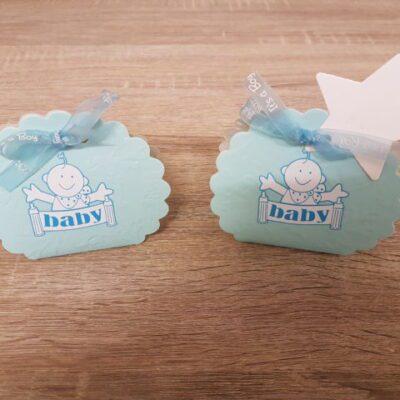 Geboortetraktatie blauw