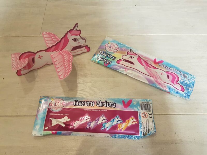 Vliegende unicorn snoep