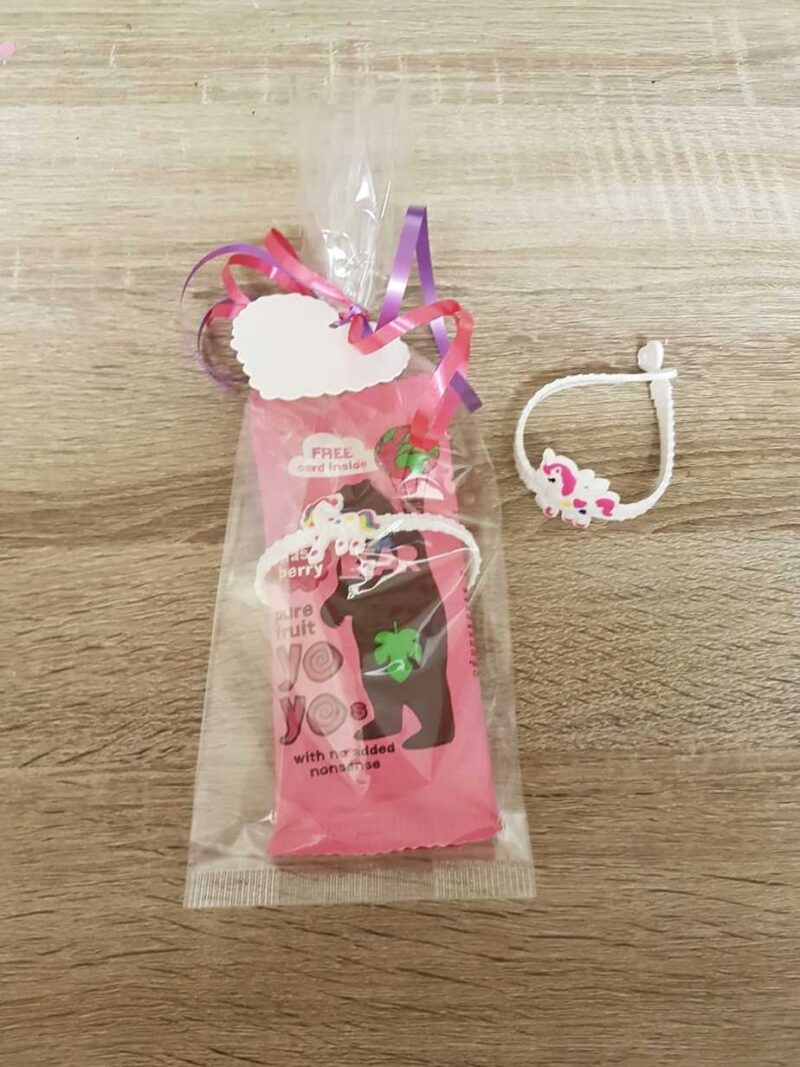 Unicorn armbandje fruit yoyo