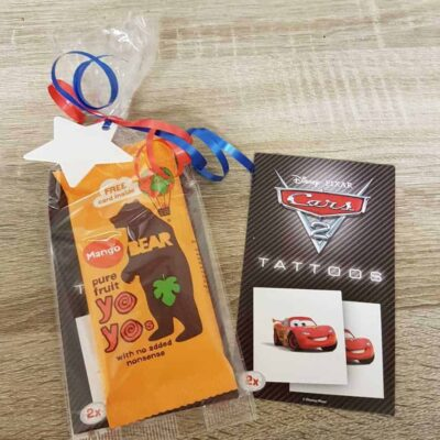 Cars tattoo fruit yoyo