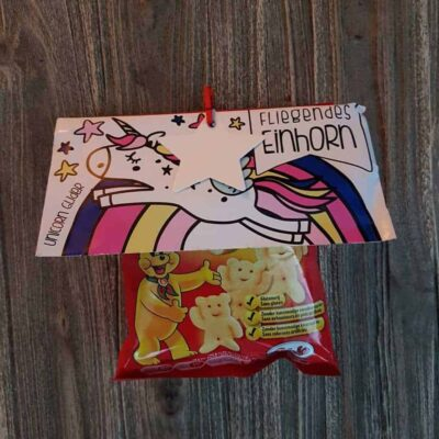 Pombär chips unicorn