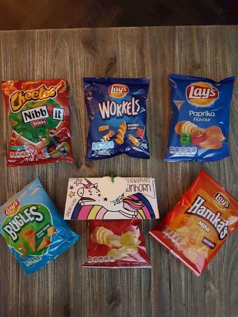 Chips mix unicorn