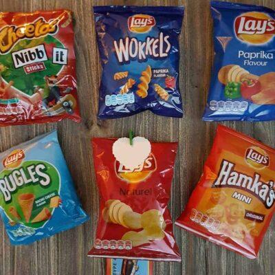Chips mix vliegtuig