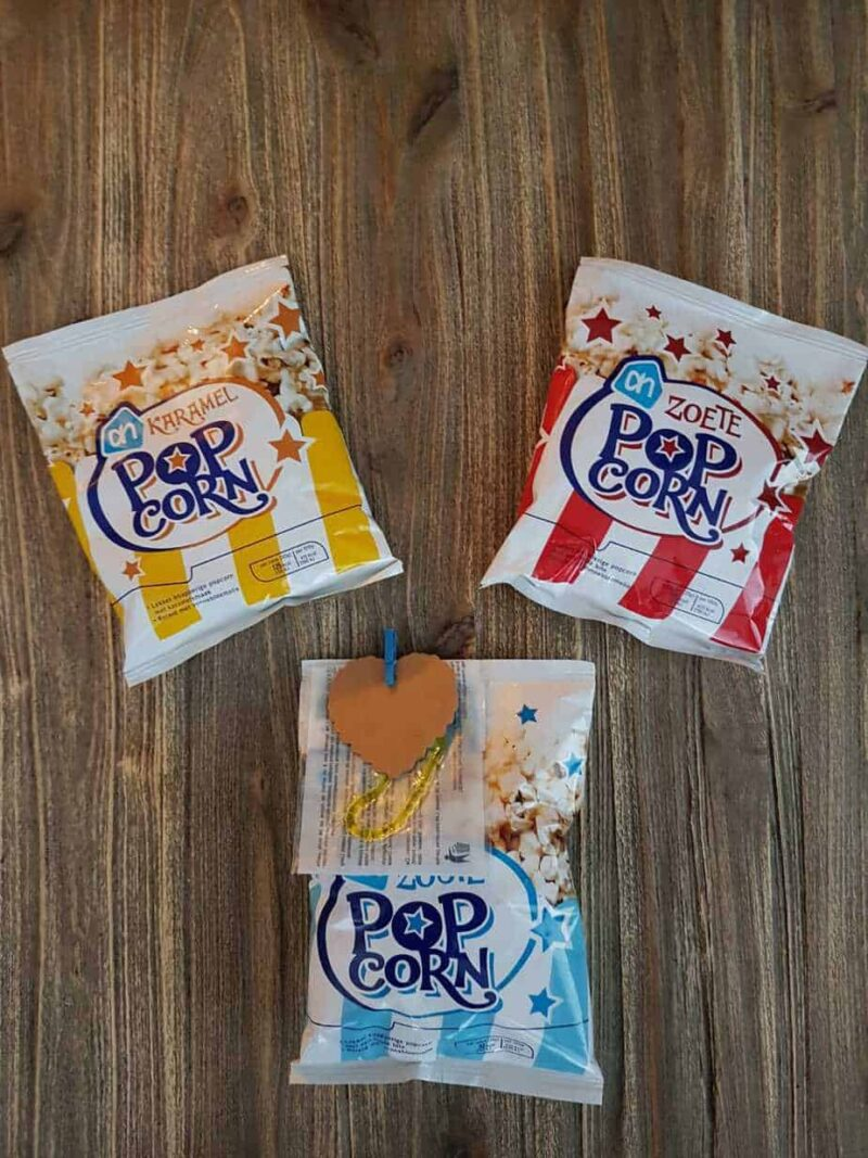 Popcorn mix plakhand