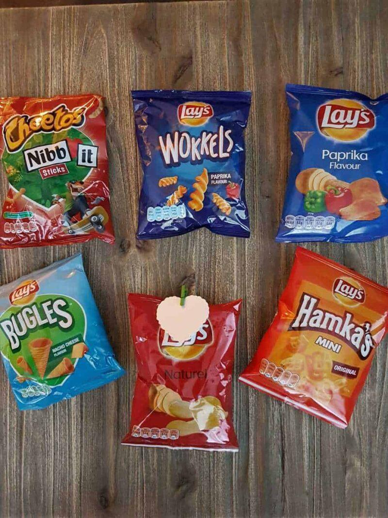 Chips traktatie mix