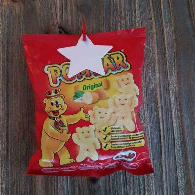 Chips traktatie Pombär