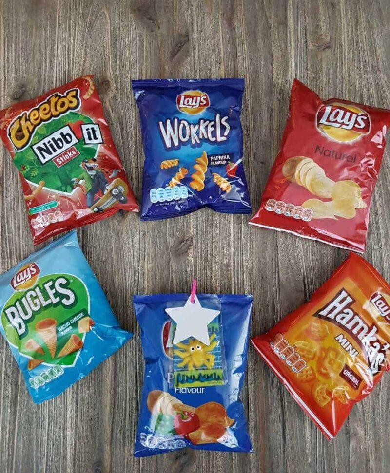 Chips mix slijmpoppetje