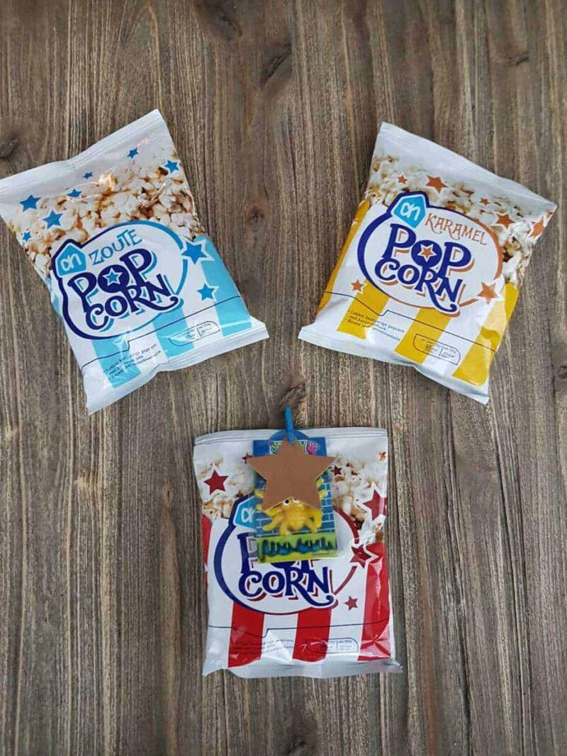 Popcorn mix slijmpoppetje