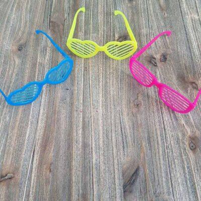Gekleurde bril fruit jojo